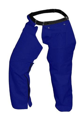 Forester Protective Trimmer safety Chaps, Navy, Small