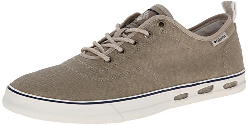 Columbia Vulc N Vent Lace Sneaker, Uomo, Bianco (103), 7