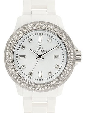 Plasteramic Watch Collection - White