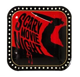 Scary Movie Night Dessert Plates 8ct - 1