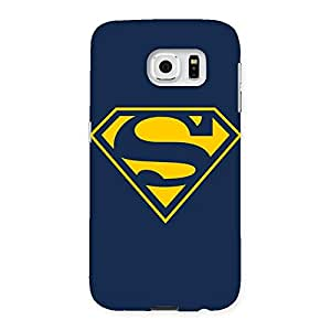 Cute Yellow Day Back Case Cover for Samsung Galaxy S6