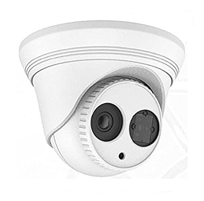 "EXMAX DS-2CD2332-I Original 1/3"" CMOS 3MP 2.8mm Lens POE Network CCTV Dome IP Camera H.264 IR Range HD Waterproof Home&Outdoor Security Surveillance Camera"