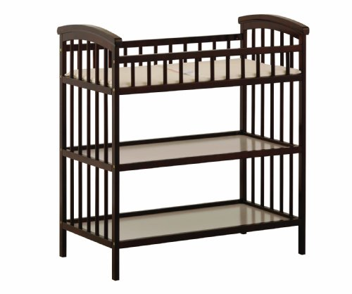 Stork Craft Hollie Changing Table, Espresso