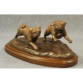 bronze pugs