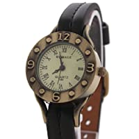 Bei wang Roman Numeral Display Retro Leather Band Watches Quartz Wrist Watches