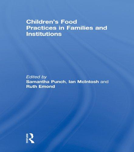 Children Food Practices In Families