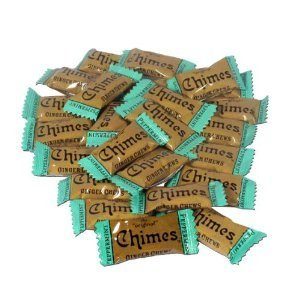 Chimes Peppermint Ginger Chews, 1lb Bag