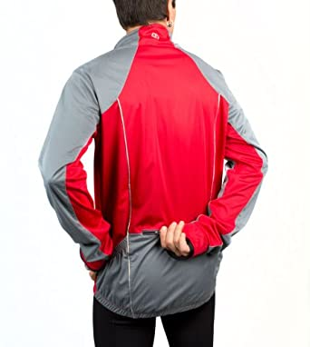 Tall Reflective Portland Cycling Jacket - Mens Big & Tall by Aero Tech Designs Cyclewear