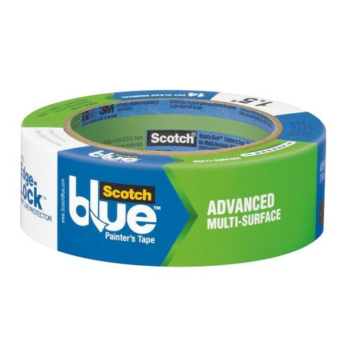 3M 2093EL-1.5E ScotchBlue Painter's Tape Advanced Multi-Surface, 1.5-Inch by 60-Yard, 1-Pack