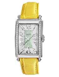 Gevril Women's 7246NE.2 Green Mother-of-Pearl Genuine Alligator Strap Watch