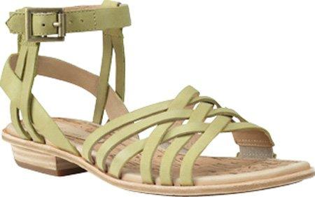 Timberland - Scarpe con cinturino alla caviglia Donna , Verde (Hellgrün (Lime Yellow)), 37 EU