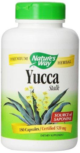 Nature's Way Yucca Stalk, 180 Capsules (520 mg)