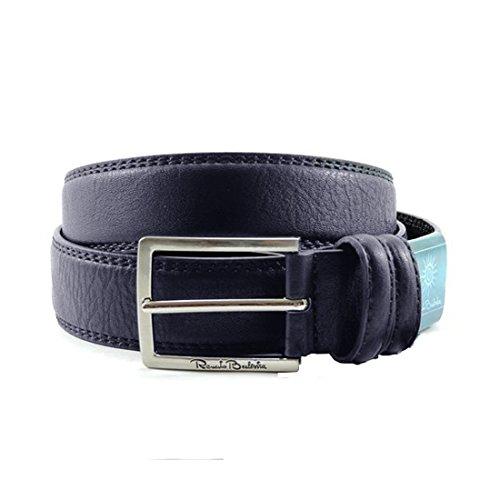 Cintura in pelle Renato Balesta uomo classica Blu cod: CNE396
