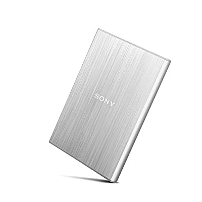 Sony HD-SL2 2TB External Slim Hard Disk (Silver)