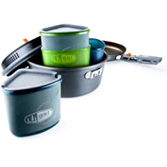 GSI Outdoors Pinnacle Backpacker Cookware Set by GSI
