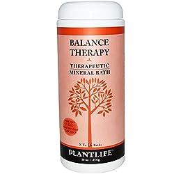 Plantlife Natural Body Care - Balance Therapeutic Mineral Bath Salt 16oz 16 oz salt