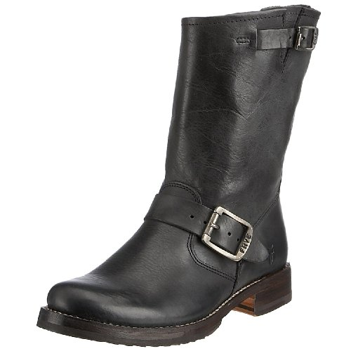 Frye Veronica Shortie Wfg Womens Boots Veronica Shortie Wfg Black 5.5 UK, 38.5 EU, 7.5 US