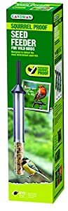 Gardman guaranteed squirrel proof wild bird seed feeder
