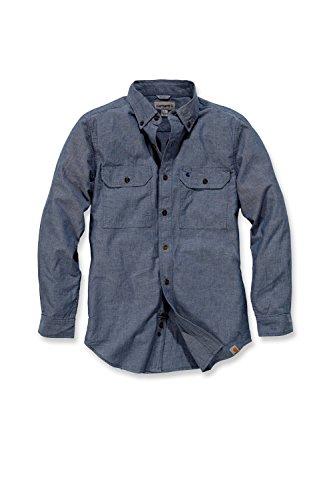 carhartt-s202-l-s-fort-solid-shirt-arbeitshemd-freizeithemd-l-blau