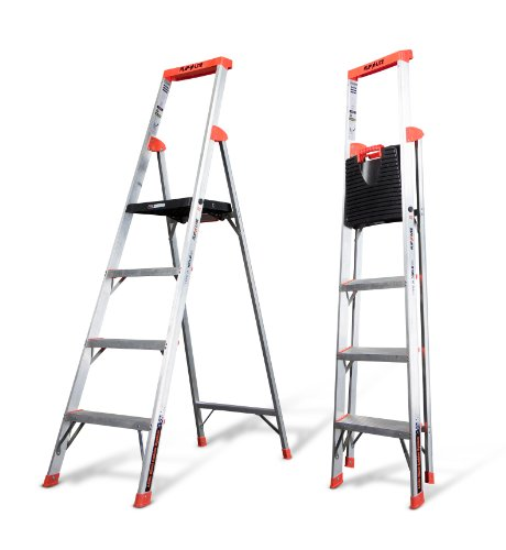 Flip-N-Lite 300-Pound Duty Rating Platform Stepladder, 6-Foot