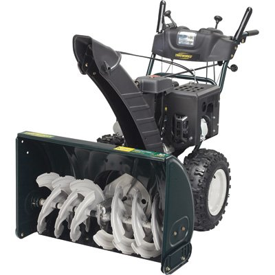 Yardworks Snow Blower With Electric Start 357cc 30in