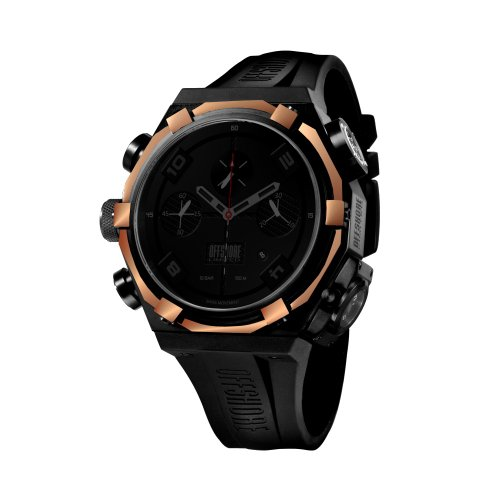 Offshore Limited Force 4 Shadow Black-Rose Gold Chronograph Watch