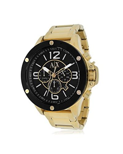 Armani Exchange Men's AX1511 Gold/Black Stainless Steel Watch