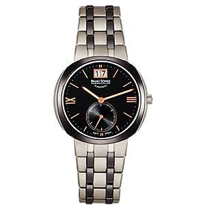 Bruno Söhnle  0 - Reloj de cuarzo para mujer, con correa de acero inoxidable, color plateado