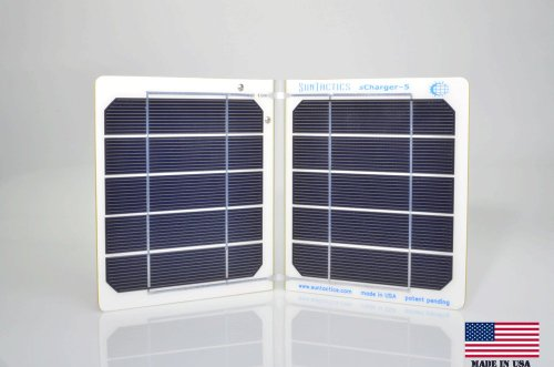sCharger-5 High Performance, Fast, Solar Charger, Quickly Charges iPhone, iPod, Android Phones, Samsung, eReaders, and Many Other USB Devices Directly From Sunlight. And Extremely Reliable.
