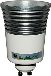 EagleLight Color Changing LED Light Bulb and Remote (GU10 Base)