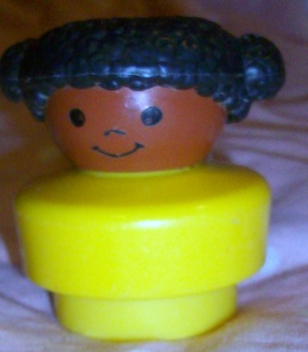 Buy Low Price Mattel Fisher Price Little People Vintage African American Girl Replacement Figure Doll Toy (B0025JIMCC)