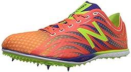 New Balance Women\'s LD5000V3 Track Spike, Orange/Purple, 8.5 B US