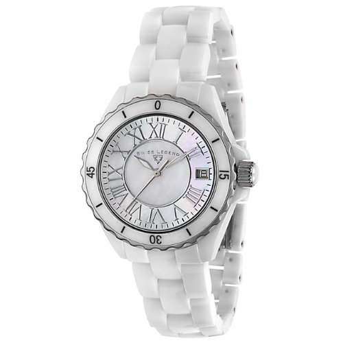 Swiss Legend Women's 20050-WWSR Ceramic Karamica Collection Watch