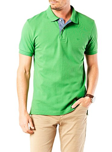 Polo Dockers Fitted Verde XL Verde
