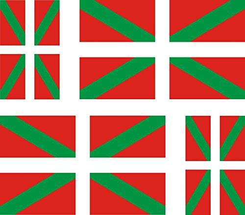 4-x-Autocollant-sticker-voiture-moto-valise-pc-portable-drapeau-pays-basque