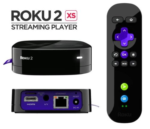 Roku2 XS Premium Bundle Wireless Streaming Player w/2 game