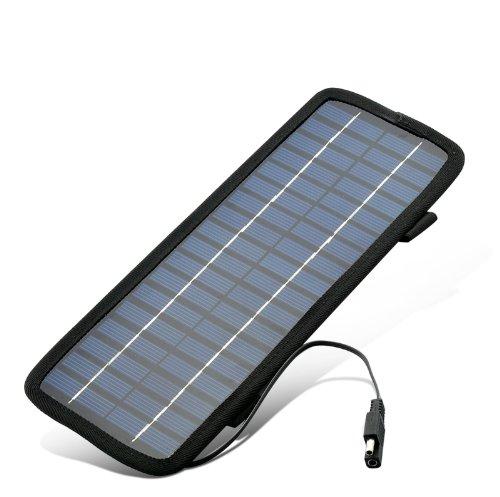 3.5W 18V Emergency Solar Battery Charger - Usb, 12V Cigarette Lighter Adapter