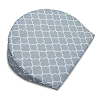 Boppy Pregnancy Wedge, Petite Trellis Grey by Boppy