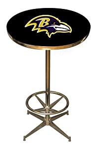 NFL Baltimore Ravens Pub Table