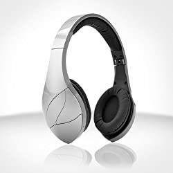 Velodyne vFree On-Ear 3.5mm Wireless Bluetooth Headphones - Silver