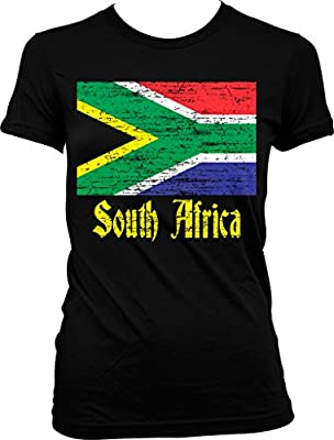 Flag of South Africa, South African Flag Juniors T-shirt, NOFO Clothing Co.