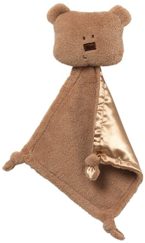 GUND Simply Modern Brown Bear Blankie - Bala (Discontinued by Manufacturer)