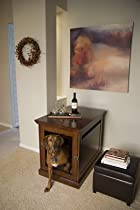 Big Sale Medium Mahogany TownHaus Hideaway Dog House Nightstand End Table