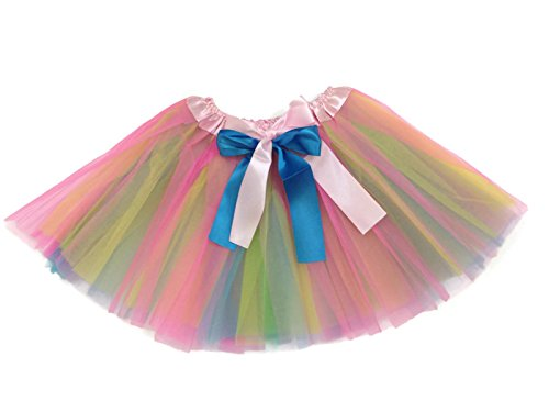 Rush Dance Pastel Easter Colorful Ballerina Girls Dress-Up Princess Costume Tutu