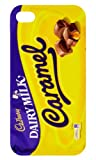 Iphone 5/5s White Cadbury Dairy Milk Caramel iphone case Free Next Day Delivery