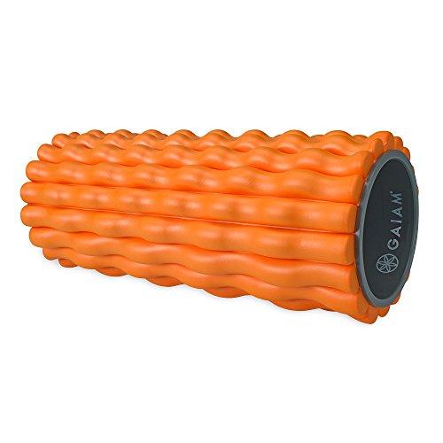 gaiam-restore-deep-tissue-muscle-massage-foam-roller-orange