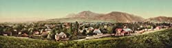 Boulder, Colorado, in 1900 - Exceptional Print of a Vintage Photochrom Image from the Library of Congress Collection