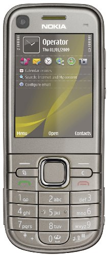Nokia 6720 classic iron grey (UMTS, aktive Geräuschunterdrückung, MP3, Kamera mit 5 MP) Handy ohne Vertrag, ohne Branding, kein Simlock