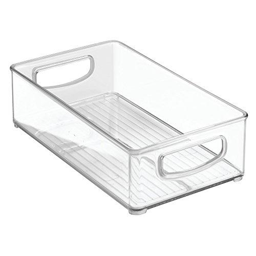 InterDesign Home Kitchen Organizer Bin for Pantry, Refrigerator, Freezer & Storage Cabinet, 10