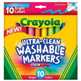 10 ct. Ultra-Clean Broad Line Markers Bright